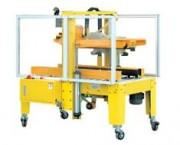 Fermeuse de carton à réglage automatique de la largeur - Encombrement machine (L x l x h) : 1200 x 900 x 1600 mm