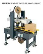 Fermeuse de cartons industrielle - Fermeuses automatiques et semi-automatiques - Disponible en plusieurs modèles