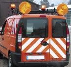 Feu de présignalisation sur véhicules - Feu de presignalisation dim 340mm