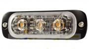 Feu de signalisation flash led - 3 LEDs High Power