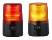 Feu flash LED autonome sur piles