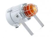 Feu LED avec grille protectio  -  Feu LED avec grille protection avec équerre de fixation