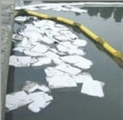Feuille absorbante pour hydrocarbures - Sac de 200 feuilles - Dimensions : 40 x 45 cm