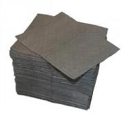 Feuille absorbante tout liquide - Dimensions : 41 x 46 cm - Simple épaisseur