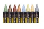 Feutre craie à encre liquide - Largeur du trait de 1 à 15 mm - Plusieurs couleurs disponibles