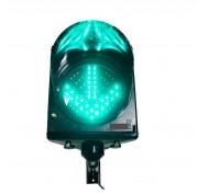 Feu de passage double symbole  - Signal croix rouge et flèche verte de Ø200mm avec gestion intégrée