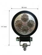 Feux de travail orientables - LED blanc froid