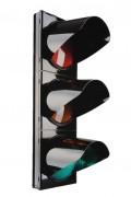 Feu tricolore à LED  - Signal principal 3 feux en polycarbonate en Ø200 ou Ø300mm