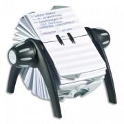 fichier rotatif noir pour fiche contact 25 onglets alphabétique télindex - Durable
