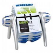 Fichier rotatif pour cartes de visite visifix flip gris bleu - Durable