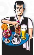 Figurine de trottoir pour brasseries - Dimensions (cm) : 60 x 156