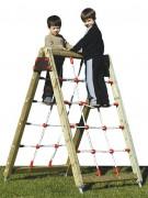 Filet à grimper pour parcs - Dimensions (L x l x H) mm : 1100 x 1600 x 1550
