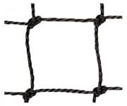Filet court de tennis - Longueur : 12.70 m - Hauteur : 1.05 m - Fil tressé PE 3 ou 4 mm