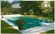 Filet couverture piscine - Oeillets métalliques ø 15 mm
