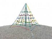 Filet d'escalade Pyramide 2.5m - Norme EN 1176 / de 3 à 12 ans