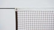Filet de badminton 6,2m L x 0,76m Ht - Diamètre : 0.75 mm - Maille : 20 mm.