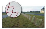 Filet de balisage piste - Mailles (mm) : 50 - 100