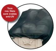 Filet de benne camion - Poids au (m²) : 210 g