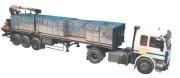 Filet de camion avec mailles carrées - Maille carrée de 25 à 100 mm
