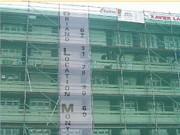 Filet de protection bâtiment historique - Largeurs standards (m) : de 1 à 3
