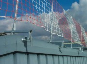 Filet de protection toiture - Maille (mm) : 100