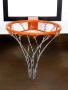 Filet en chaîne renforcé pour panier de basket ball