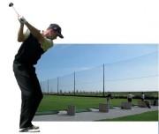 Filet pare balle de golf - Mailles carrées (mm) : 25