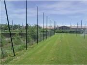 Filets pare-ballon pour stade et aires de jeux - Mailles carrées (mm) : 145