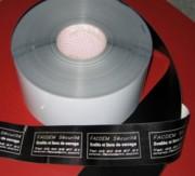 Film adhésif laser sécurité - Largeur (mm) : 120