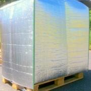 Film coiffe palette de protection 100 x 120 cm - Dimensions de couverture (Lxl)  :  80x120 cm et 100x120 cm.
