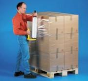Film étirable manuel pour conditionnement palettes - CAST Transparent longueur garantie-Réf:53133