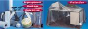 Film polyéthylène de protection - Dimensions (lxL) : de 1000mm x 270m à 3000mm x 72m