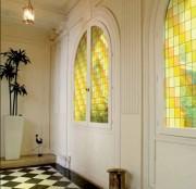 Film vitrail pour vitre - Plusieurs dimensions et coloris disponibles