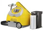 Filmeuse robot de palette - Hauteur standard de banderolage : 2100mm (jusqu'à 2800mm en options