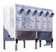 Filtre à manches modulaires de bois industriel - Filtration efficace - Modèle : 65 m²