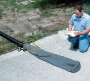 Filtre anti pollution pour tuyau - Diamètre : 203 - 304 - 406 mm - Longueur : 1524 mm