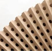 Filtre carton plissé - Standard - pour captation de particules de peinture ou overspray liquide