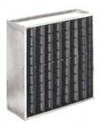 Filtre charbon actif adsorbeur - Débit nominal m3/h à 9 mm CE : 1275 ou 3400