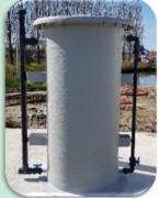 Filtre industriel à deux étages  - Filtre à pression industriel  à deux étages
