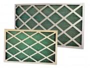 Filtre plan cadre carton - Température maximum d'utilisation: 70°