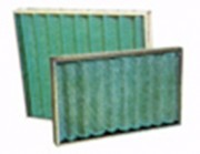 Filtre plissé a cadre galva - Efficacité gravimétrique : G2 - G3 - G4 - F5