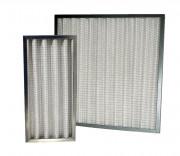 Filtre plissé air industrielle - Température maximum d'utilisation : 90°