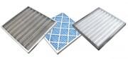 Filtre plissé jetable - Fibre de verre, en tricot métallique ou plissés de G2 à G4