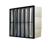 Filtres à poches cabines de peinture - Epaisseur du cadre : 25mm