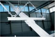 Fixation pour câble de maintien buts - Monotubes carrés 100 mm