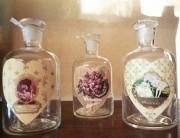 Flacon de parfum vide - Hauteur : de 12 à 20 cm