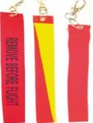 Flamme de sécurité avion - Dimensions (cm) : 47 x 8