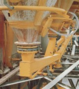 Fluidélisation produits en poudres secs - Débits de matière très importants