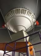 Fond vibrant extracteur industriel - Diamètre : 450 à 4500 mm – Diamètre de sortie : 150 à 600 mm