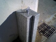 Fontaine à boire modèle Artdéco - Fontaine à boire granit